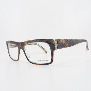 Alain Mikli Brown Tortoise Glasses A0 1344M B0I6